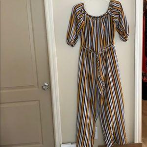 Stripe Jumpsuit!